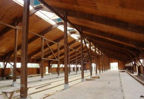 В СПК «Россия» строятся сразу три новые фермы